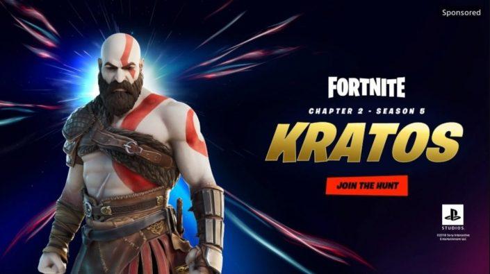 Fortnite: Kratos-Skin steht ab sofort bereit und zeigt sich im Trailer