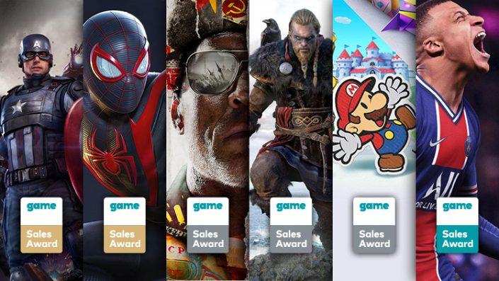Game Sales Awards: Diese Spiele wurden im November ausgezeichnet