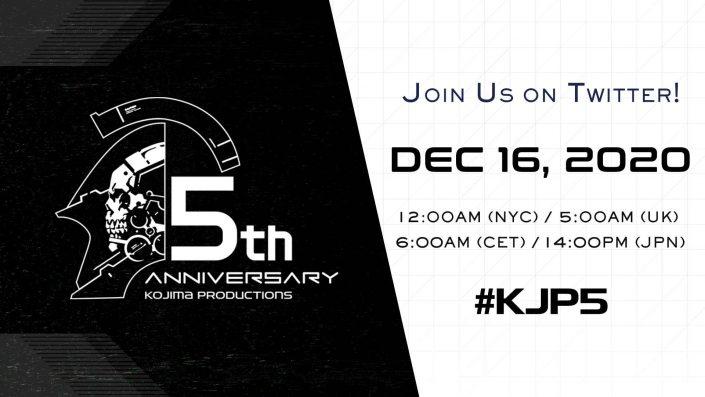 Kojima Productions: Neuigkeiten für Mittwoch angekündigt – Update