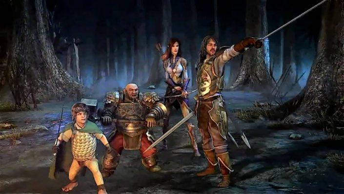 Lord of the Rings Online & DC Universe Online: Die MMOs finden den Weg auf die PS5