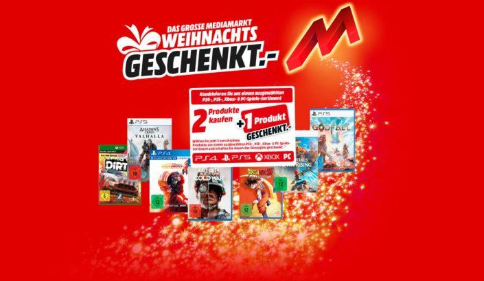Media Markt und Amazon: 2 Spiele kaufen + 1 geschenkt – PS5-Spiele dabei