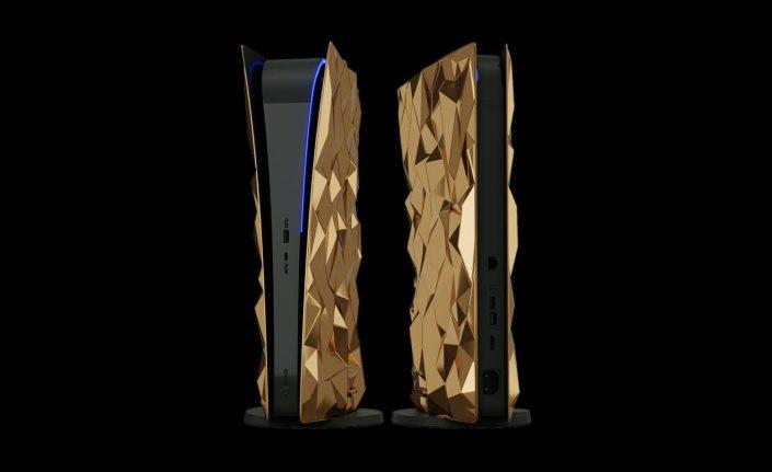 "PS5: Luxuriöses Konsolendesign ""Golden Rock"" vorgestellt"