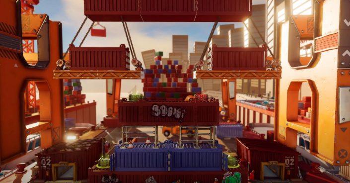 Worms Rumble: PS Plus-Spiel bekommt mit Deadly Dockyard eine neue Arena