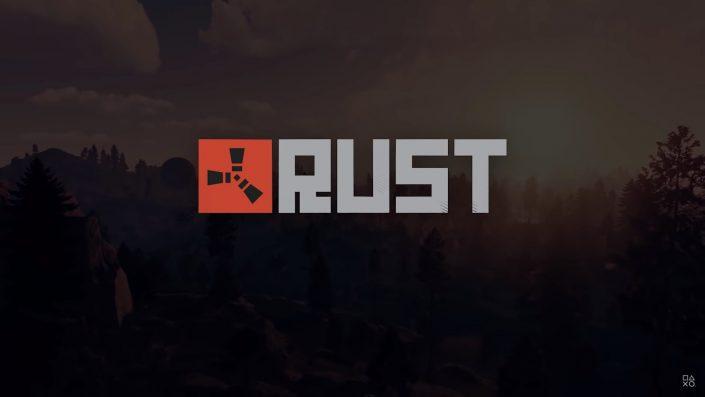 Rust: Gameplay aus der Konsolen-Beta geleakt