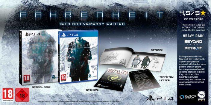 Fahrenheit: Release-Termin der 15th Anniversary Edition enthüllt