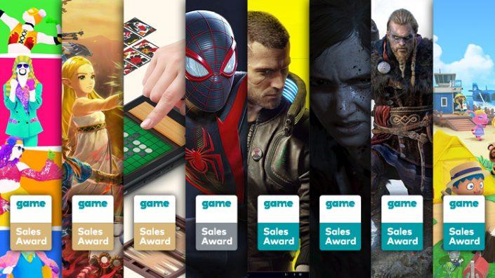 Game Sales Awards Dezember 2020: Cyberpunk 2077, Last of Us Part 2 und mehr ausgezeichnet