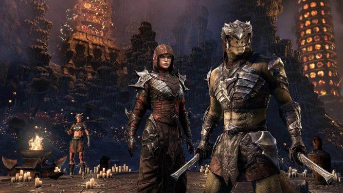 The Elder Scrolls Online Console Enhanced: Native Version für PS5 & Xbox Series X/S
