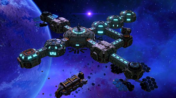 Base One: Neue Simulation erfordert das Management von Weltraumstationen