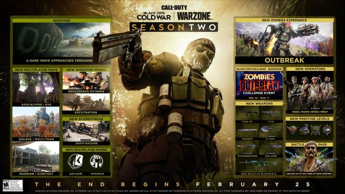 Black Ops Cold War & Warzone: Die Inhalte der zweiten Season wurden enthüllt – Neuer Gameplay-Trailer