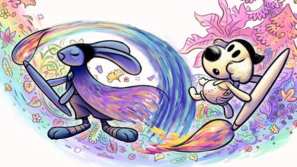 Chicory – A Colorful Tale: Das malerische Abenteuer erscheint für PS5 und PS4