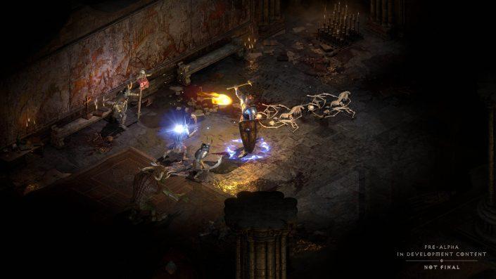 Diablo 2 Resurrected: Spielbarkeit wird erleichtert, aber das Rollenspiel wird nicht leichter