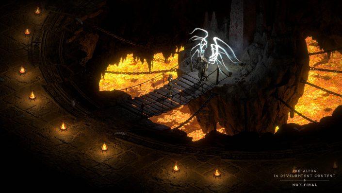 Diablo 2 Resurrected: Der Controller-Steuerung kam besondere Aufmerksamkeit zu
