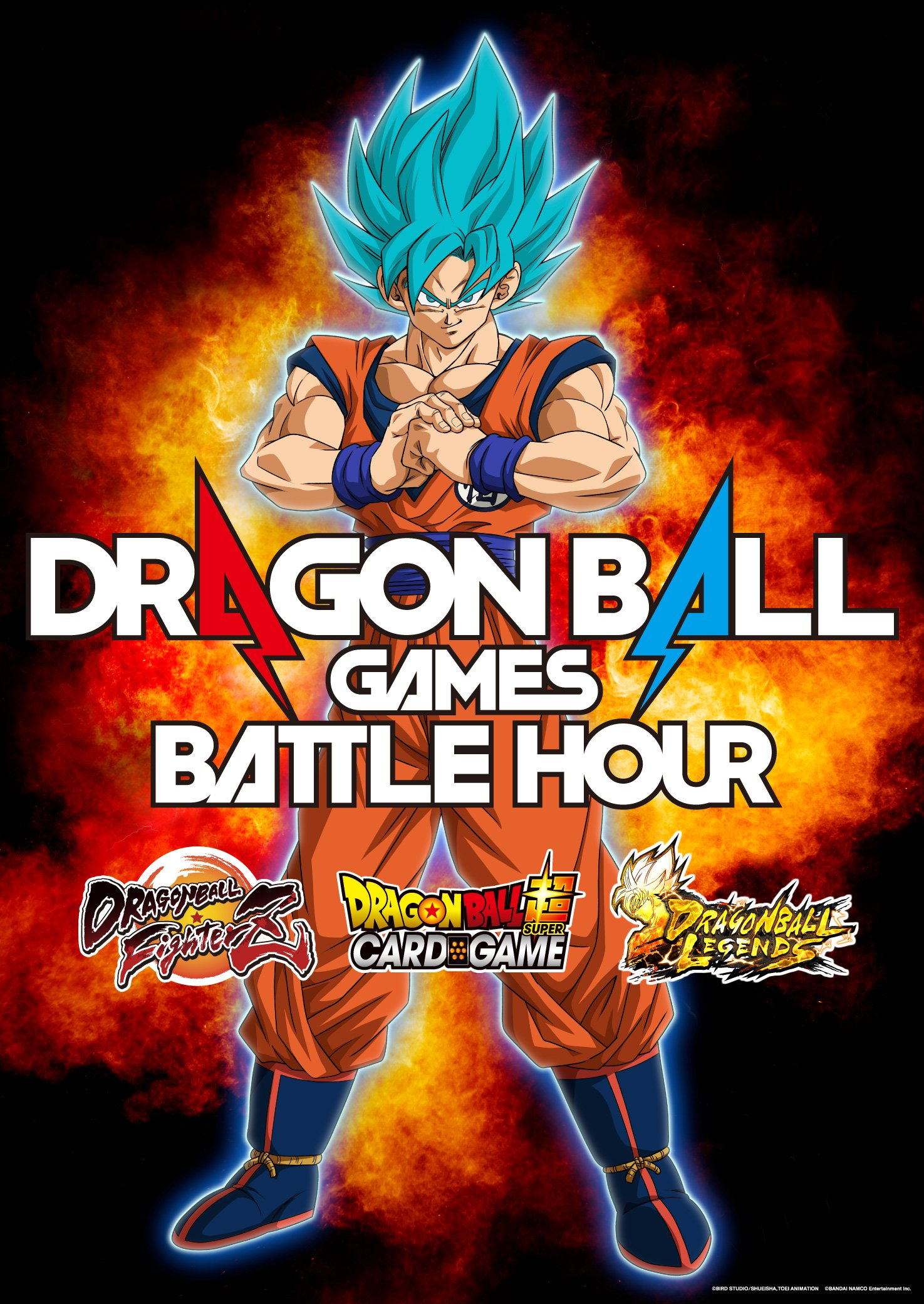 Dragon Ball Games Battle Hour – Key Visual