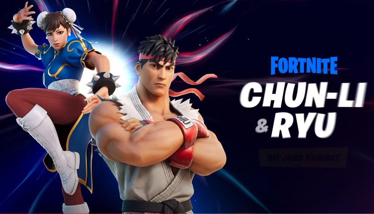 Fortnite Street Fighter