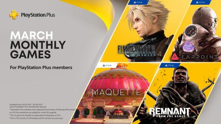 """PS Plus März 2021: Liste der neuen """"Gratis-Spiele"""" offiziell enthüllt"""