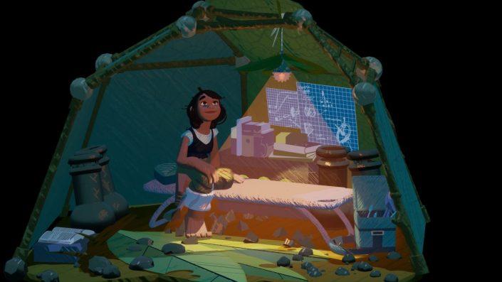 Stonefly: Die Handlung des ungewöhnlichen Abenteuers im Trailer thematisier