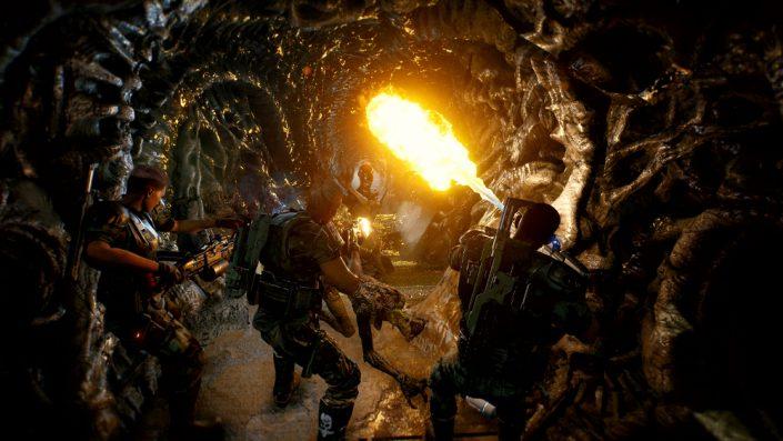 Aliens Fireteam: Mehr als 20 Minuten Gameplay aus dem Coop-Shooter