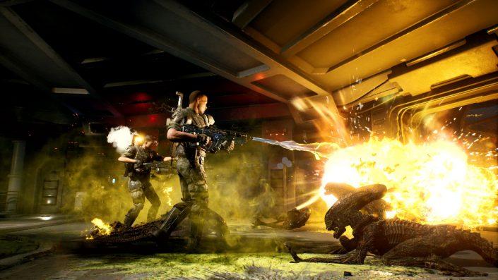 Aliens Fireteam: Gunner- und Techniker-Klassen im neuen Video vorgestellt