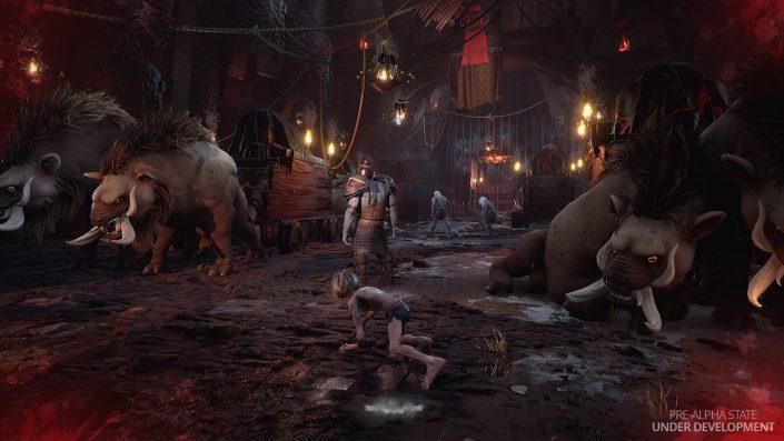 Der Herr der Ringe Gollum: Umgebungen, Charaktere und Gameplay-Details im neuen Video