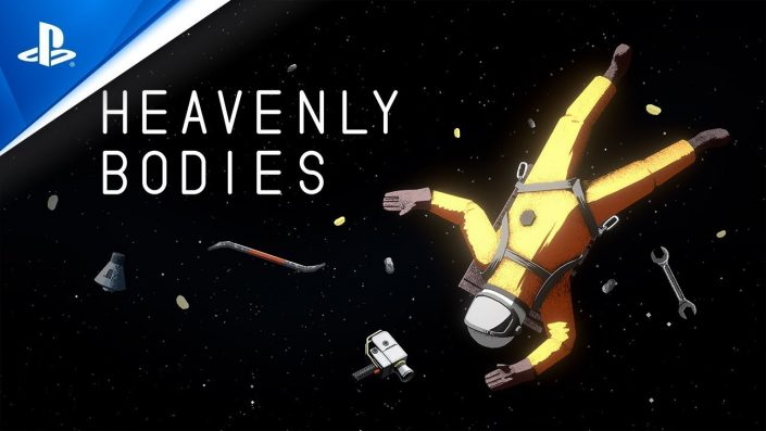 Heavenly Bodies: Physikbasierte Weltraum-Basteleien im Gameplay-Trailer