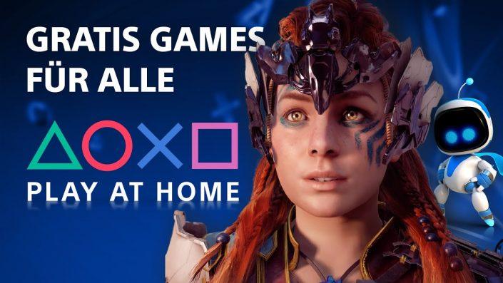 Play at Home: 9 Gratis-Spiele noch bis morgen verfügbar