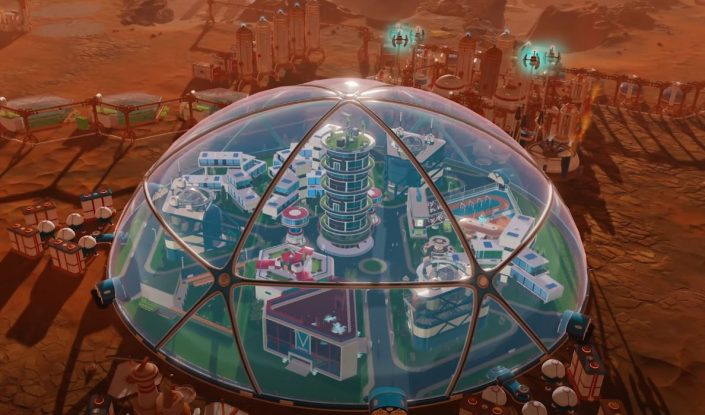 Surviving Mars: Tourism-Update und In-Dome-Buildings-Pack angekündigt – Trailer und Details