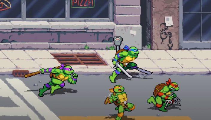 Teenage Mutant Ninja Turtles: Shredder's Revenge für PC und Konsolen angekündigt