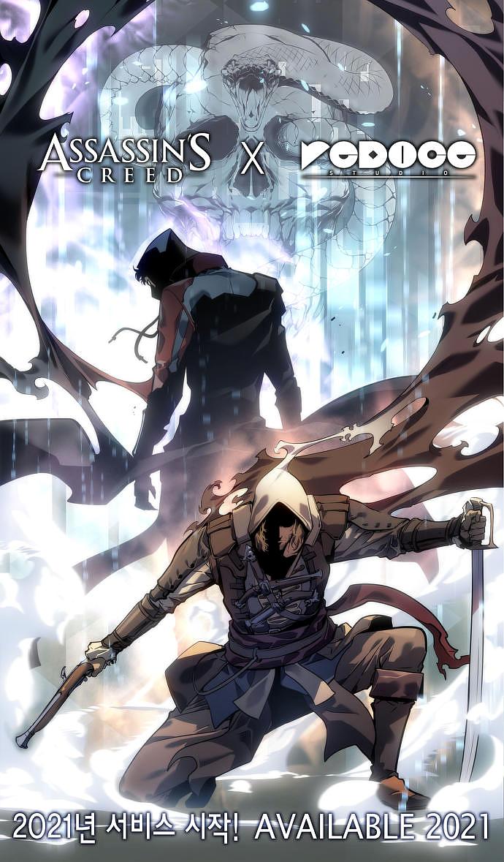 Assassin's Creed IV Black Flag – Webtoon Cover