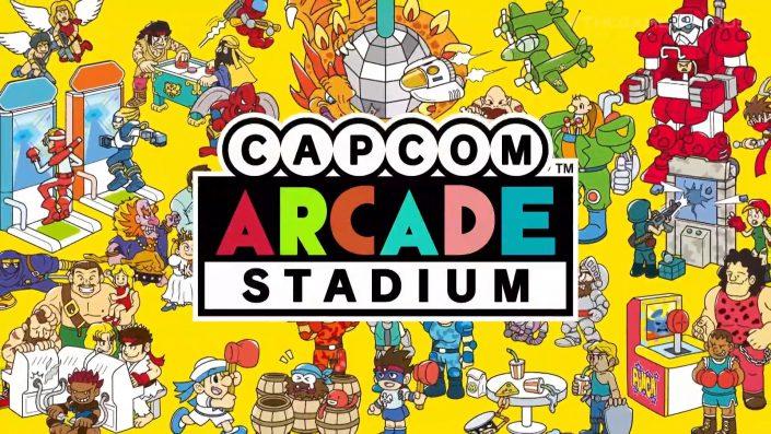 Capcom Arcade Stadium: Spielesammlung erscheint wohl nächsten Monat für die PS4