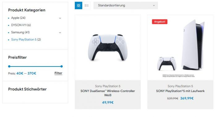 """PS5 kaufen: Warnung vor Fake-Shop """"Elektro-King.net"""""""
