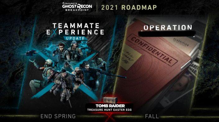 Ghost Recon Breakpoint: 2021er Content-Roadmap vorgestellt