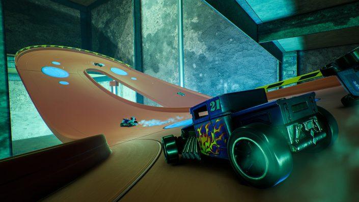 Hot Wheels Unleashed: Skyscraper-Strecke im Gameplay-Trailer