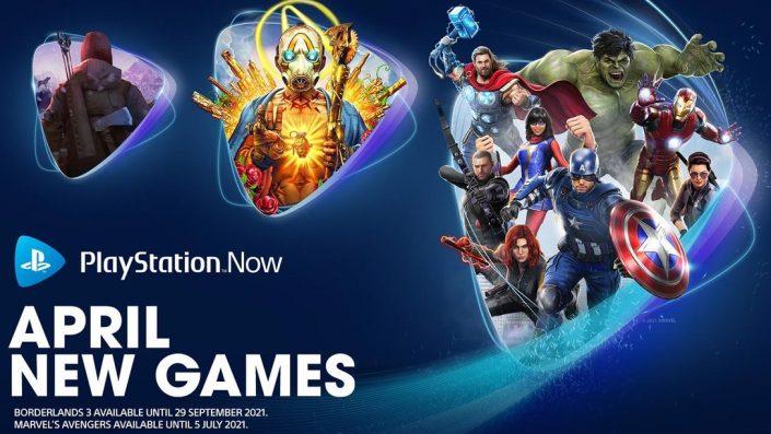 PlayStation Now April 2021: Die Neuzugänge wurden enthüllt