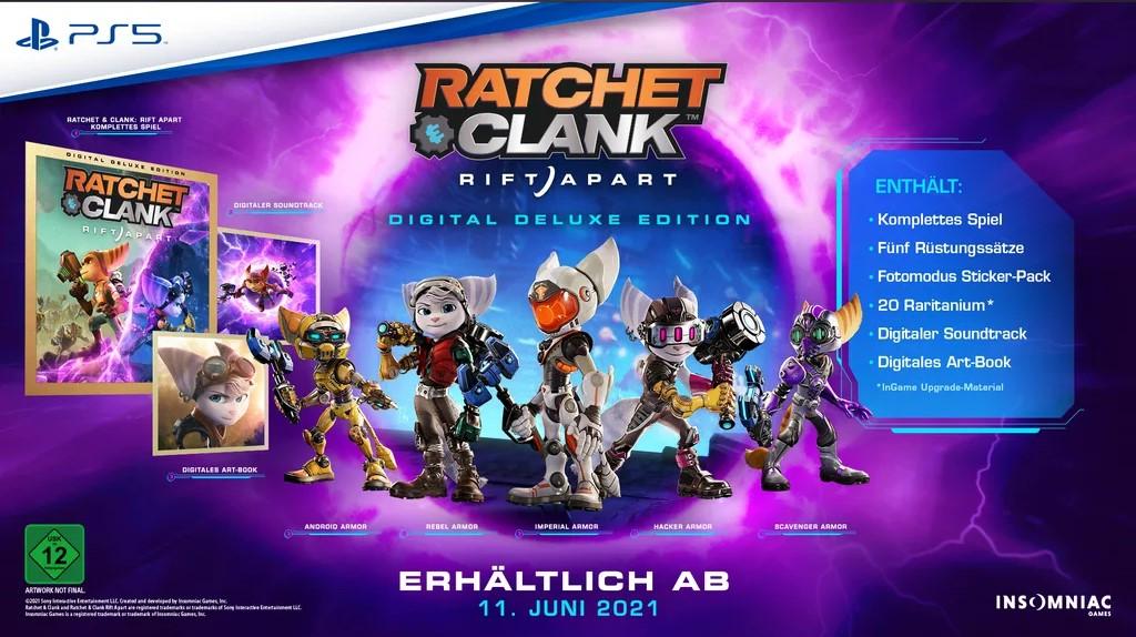Ratchet & Clank Rift Apart – Digital Deluxe Edition Looks