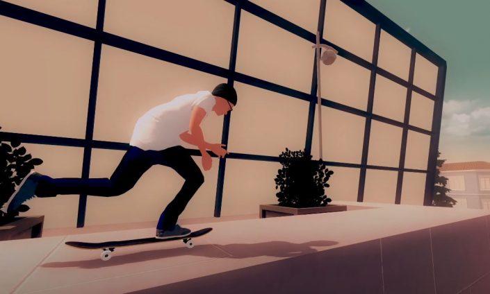 Skate City: PS4-Version angekündigt, Trailer und Termin