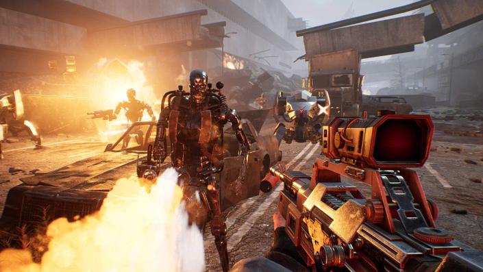 Terminator Resistance: PS4 und PS5 im direkten Grafikvergleich
