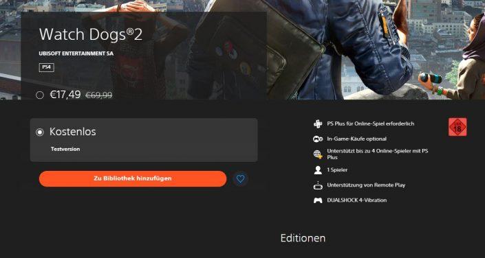 PlayStation Store: Versteckte PS4-Demos in der Übersicht
