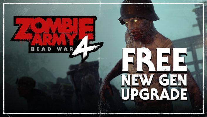 Zombie Army 4: PS5-Upgrade ab heute zum Download