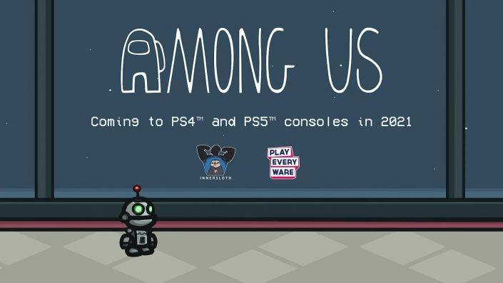 Among Us: Der Multiplayer-Hit wurde für PS4 und PS5 bestätigt