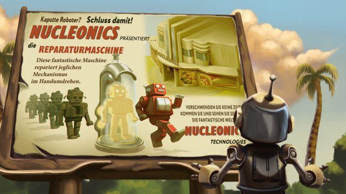 Retro Machina Plakat