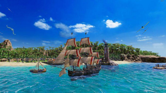 Port Royale 4: Trailer zelebriert den Release des Buccaneers-DLCs