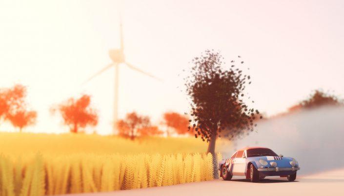 Art of Rally: Rennspiel für PS5 und PS4 angekündigt