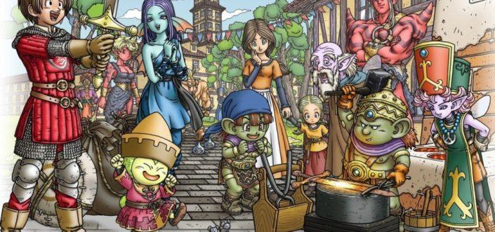 Dragon Quest X: Offline-Version des MMOs mit einem ersten Trailer angekündigt