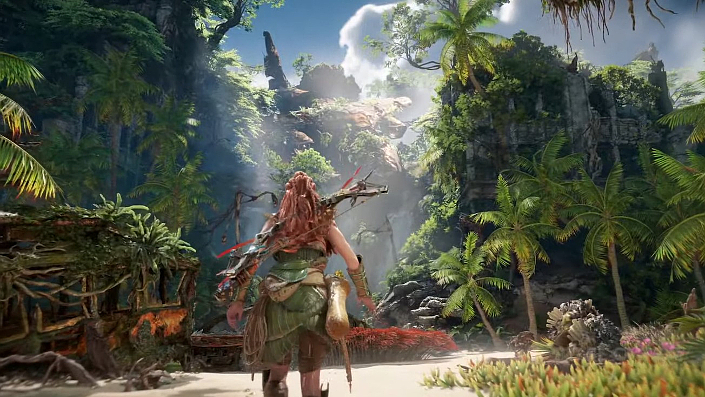 Horizon Forbidden West: 14 Minuten Gameplay-Material veröffentlicht