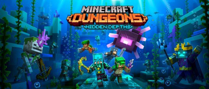 """Minecraft Dungeons: Neue Erweiterung """"Hidden Depths"""" hat einen Termin erhalten"""
