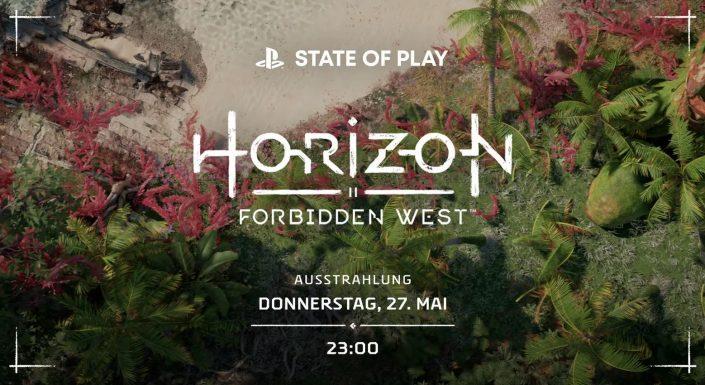 State of Play: Neue Ausgabe mit Horizon Forbidden West-Gameplay