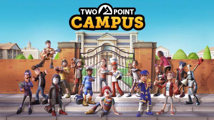 Two Point Campus: Strategie-Titel mit einem Trailer & Gameplay für 2022 bestätigt