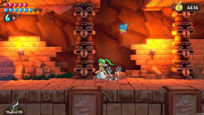 Wonder Boy: Asha in Monster World hat einen PS4-Termin