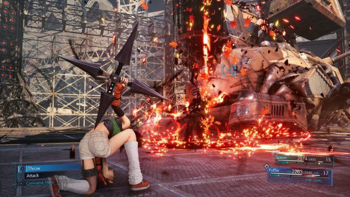 Final Fantasy 7 Remake Intergrade: Größe des PS5-Titels bekannt