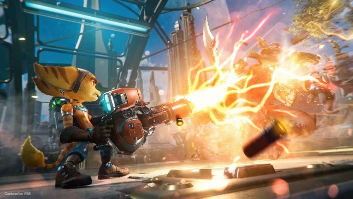 Ratchet & Clank Rift Apart: Launch-Trailer und Performance-Vergleich